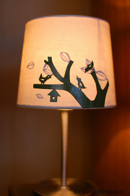 Paper cutout night lights jaderbomb