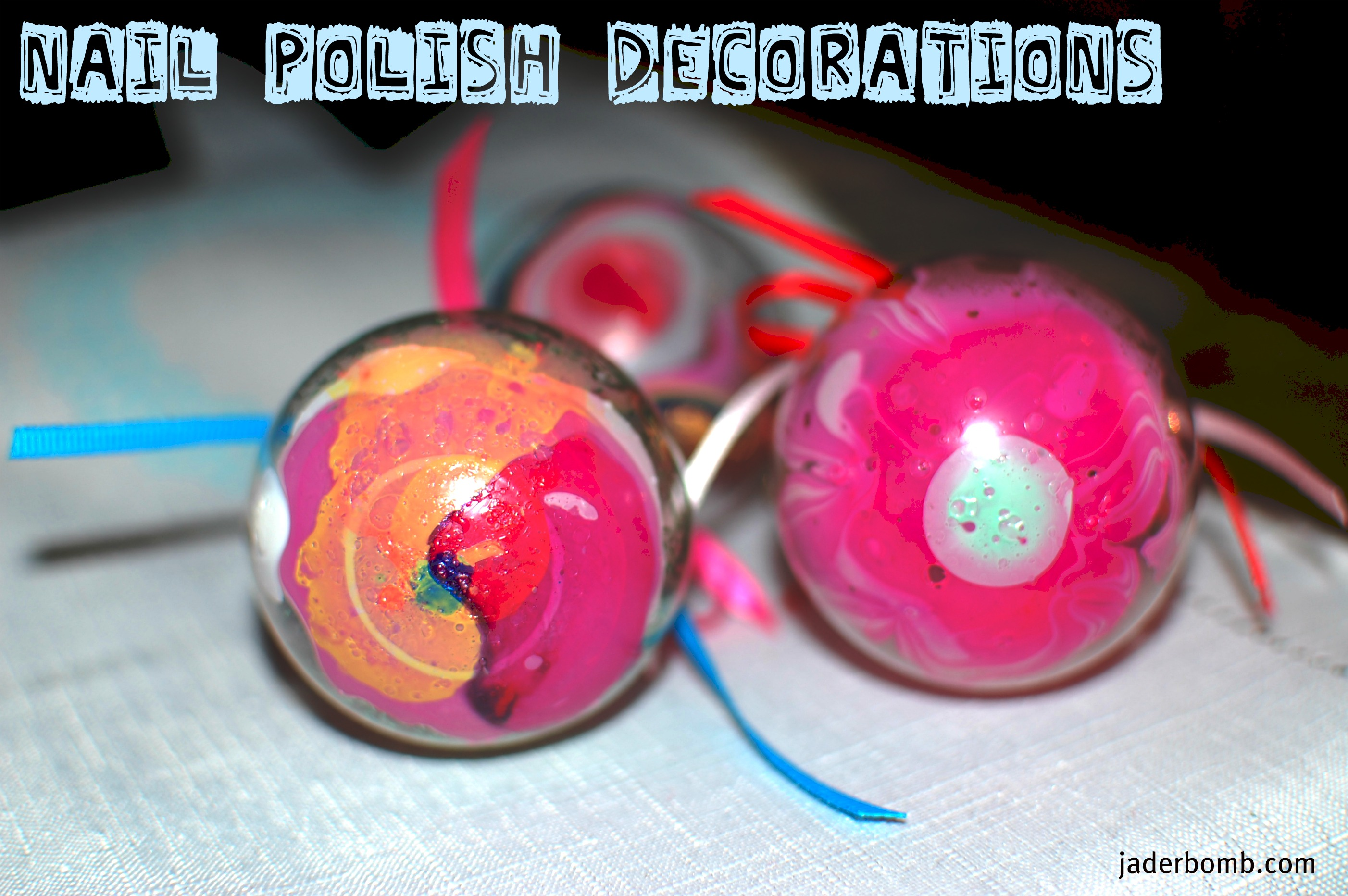 Polish glass ornaments - You Have To Be In Love As Much As I Am In Love With These Babies You Better Get Dozens Of Glass Ornaments Because This Craft Is Absolutely Addicting