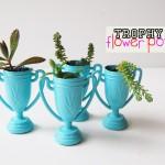 Trophy Cup Flower Pots Jaderbomb