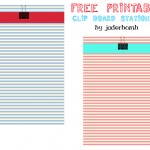 Striped Stationary