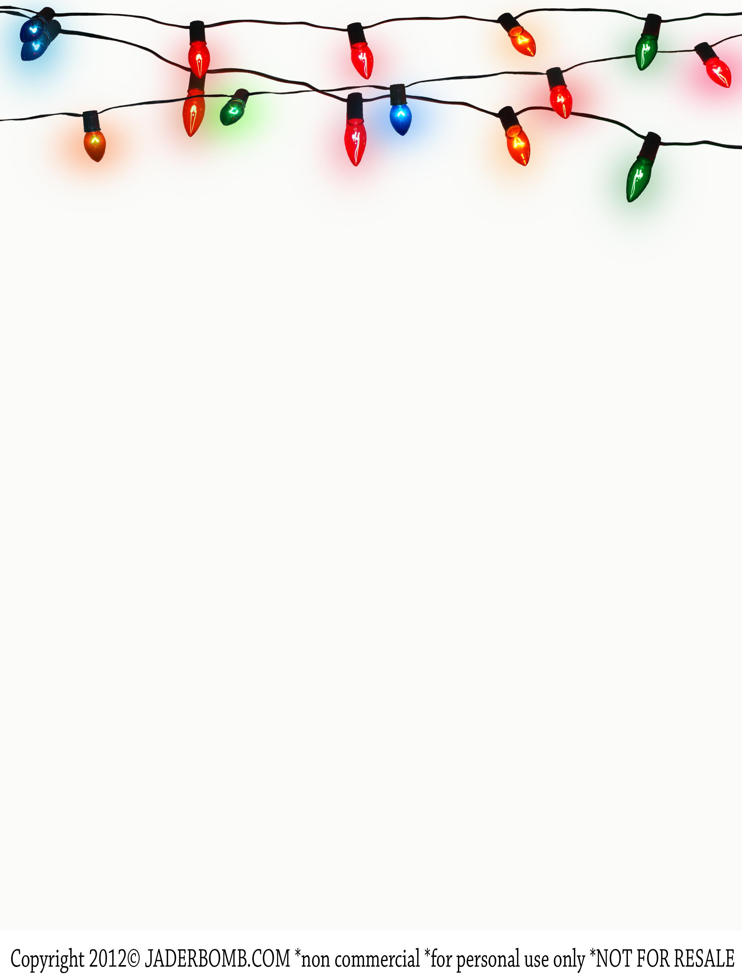 Vintage Christmas Light's Printable - JADERBOMB