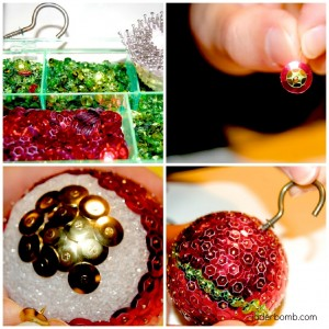 #NUO2012 Sequin Ornament