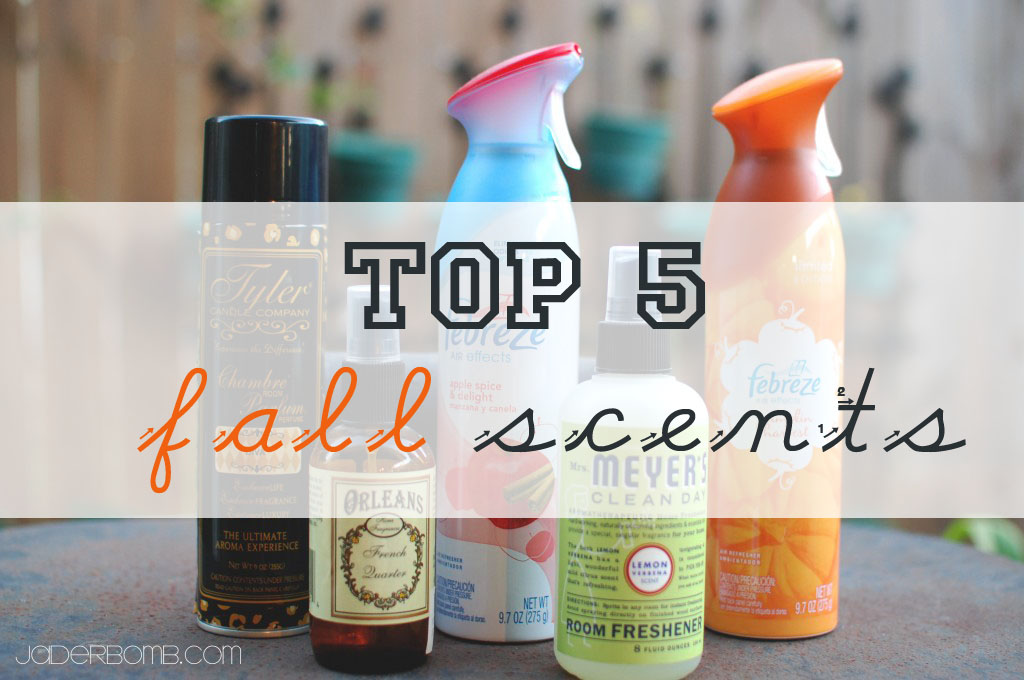 TOP 5 FALL SCENTS