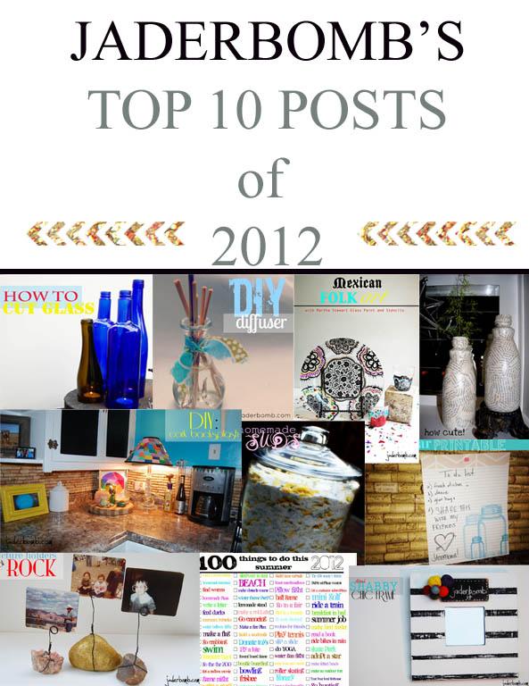 Top 10 post of 2012- jaderbomb
