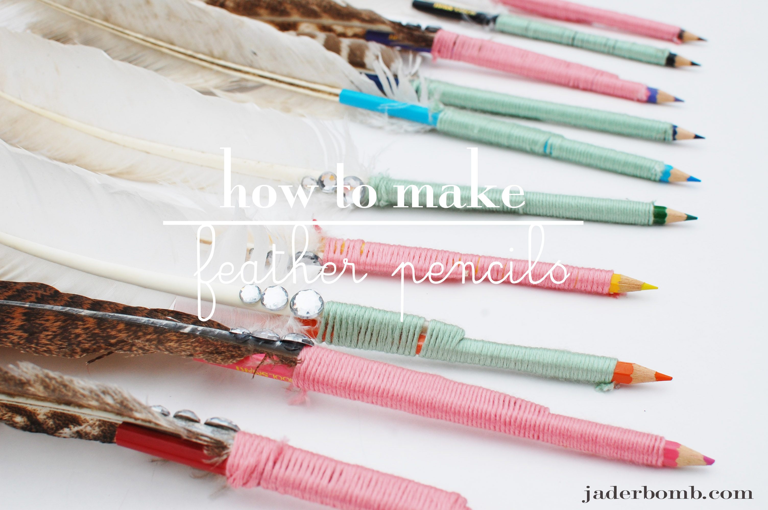 How to make a pencil 90