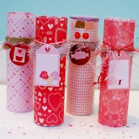 valentines day tube candles