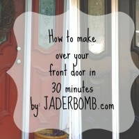 how to make over your front door