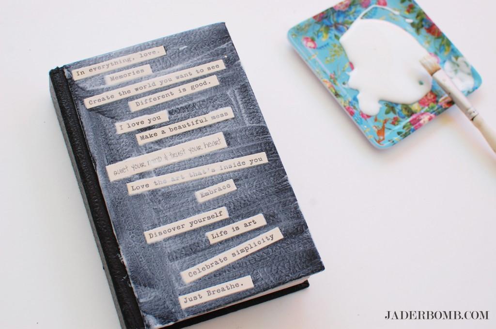 Decorate a Sketchbook- jaderbomb