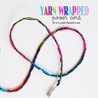 yarn wrapped cord jaderbomb