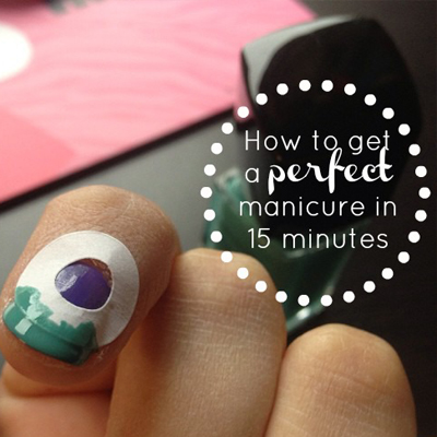 how to get the perfect manicured hand