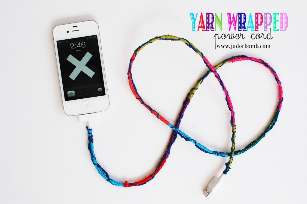 How to make Friendship Bracelet Power Cords