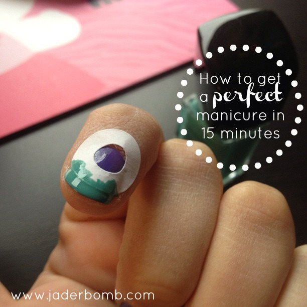How to do a French Manicure - with Paper Reinforcements