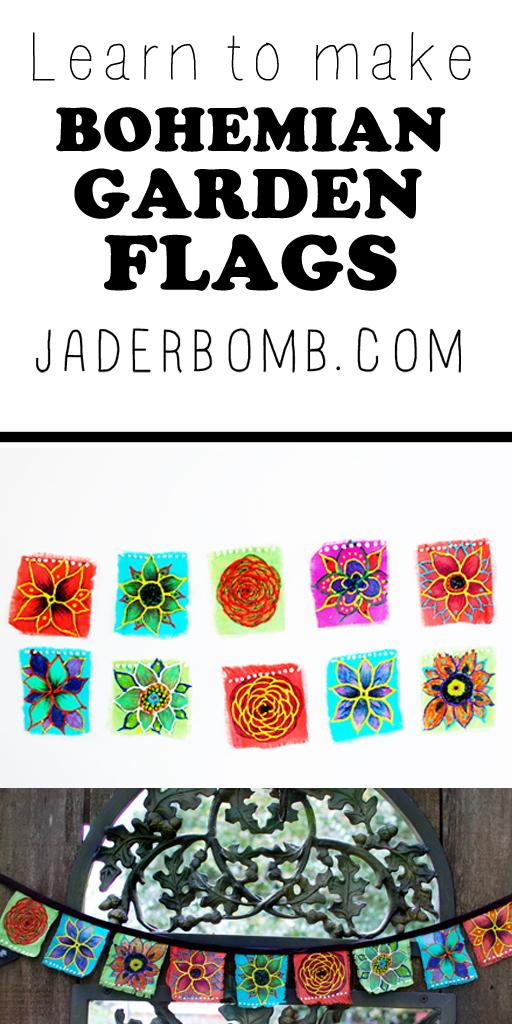 BOHEMIAN GARDEN FLAGS