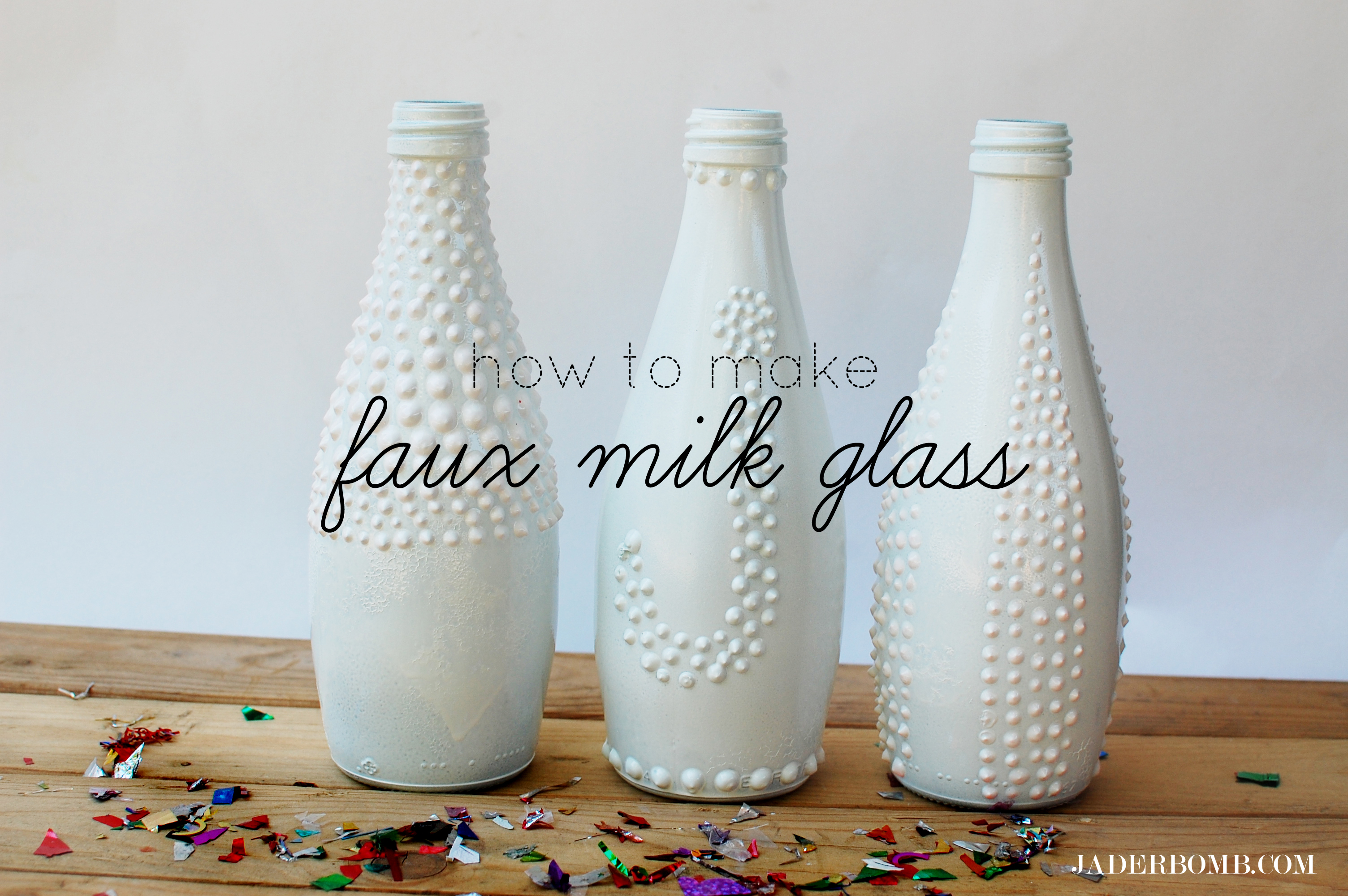 How to make faux milk glass tutorial jaderbomb reviewsmspy