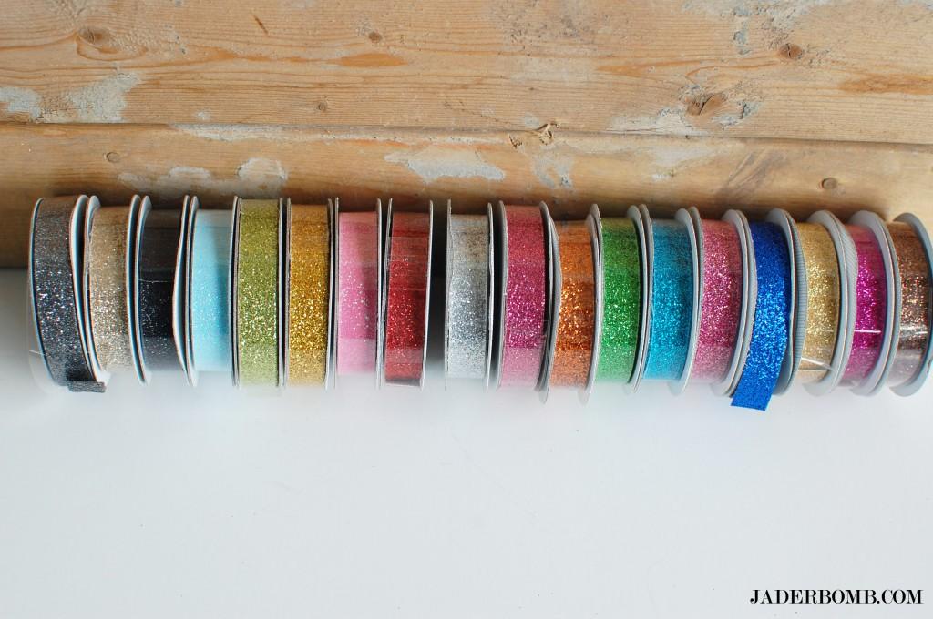 washi tape magnets