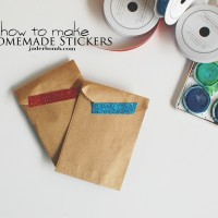 homemade stickers