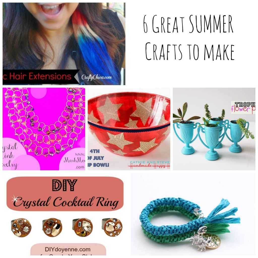 6 great summer crafts to make