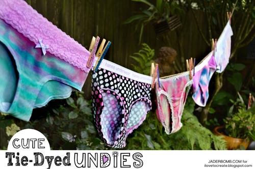 Cute Tie Dyed Undies