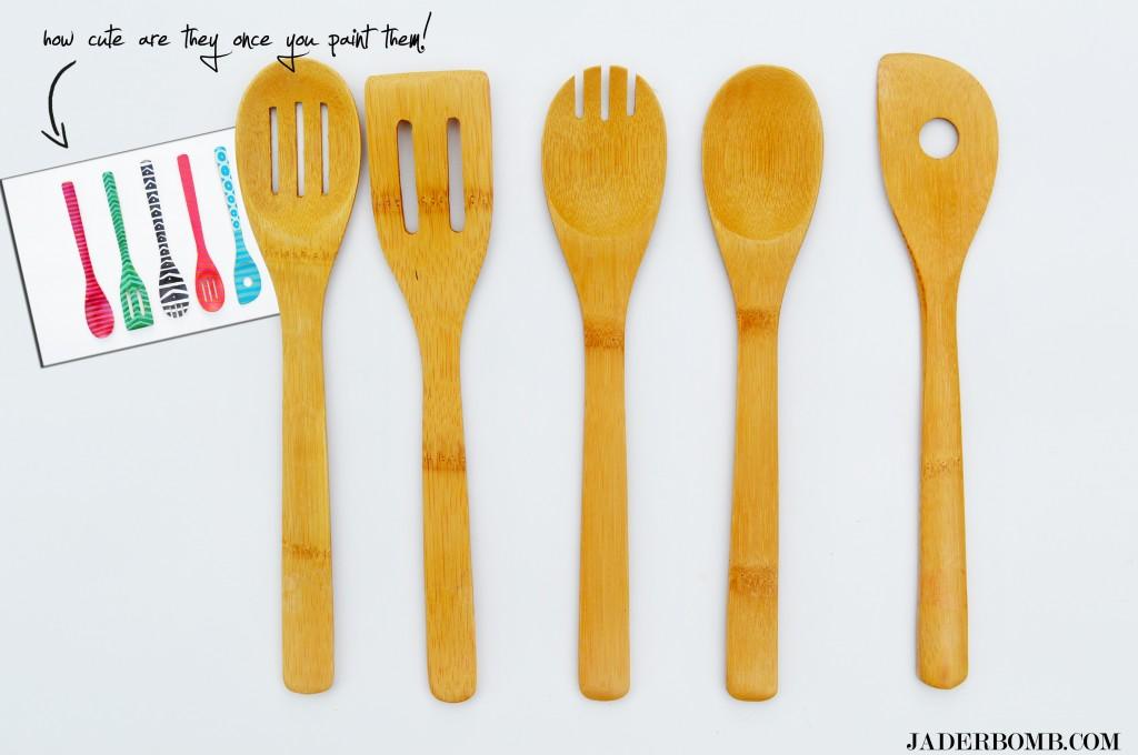 decorative wooden spoons