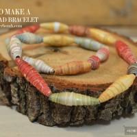 diy-paper-bead-bracelet