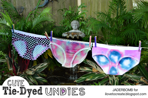 how to tie dye undies
