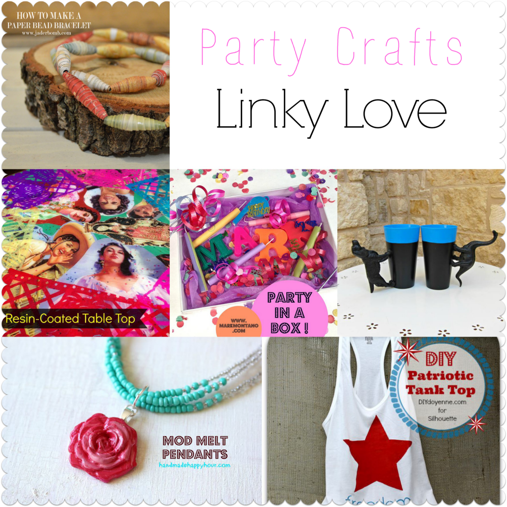 Diy party crafts jaderbomb for Easy crafts to make for friends