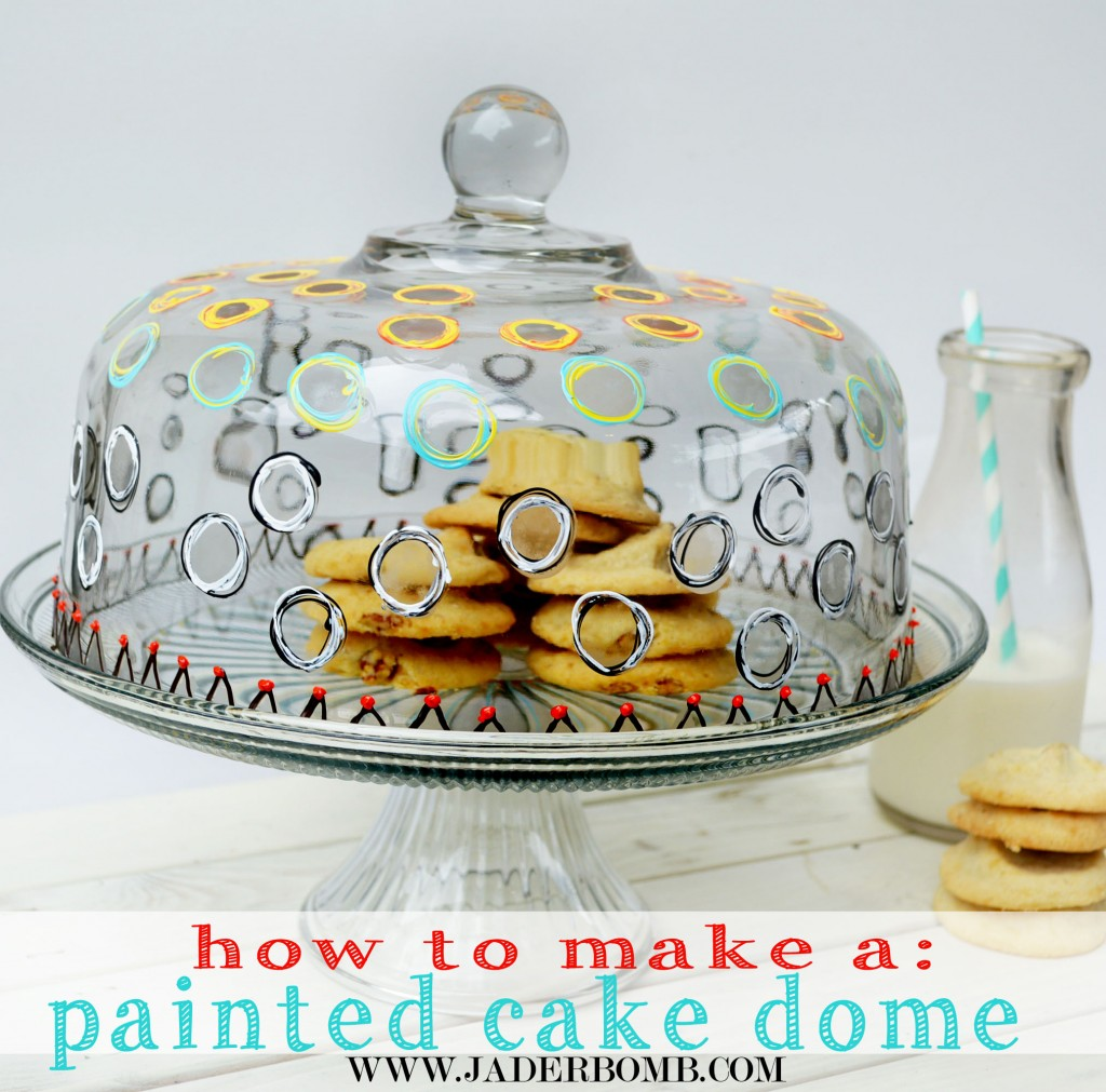 DIY PAINTED AND ETCHED GLASS