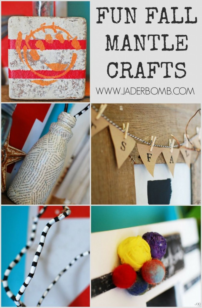 fall mantle crafts