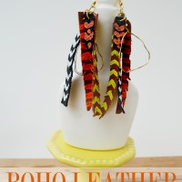 Boho-Leather-Earrings