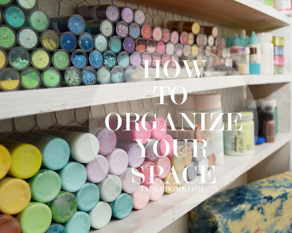 organize your supplies