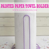 painted-paper-towel-holder