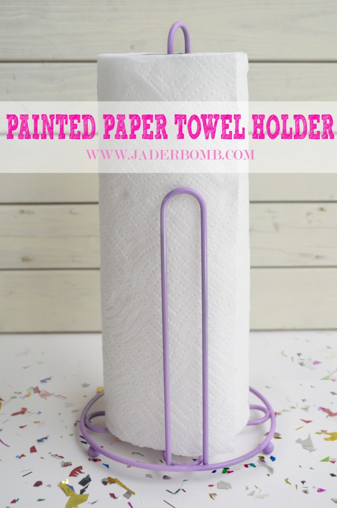Painted Paper Towel Holder Jader