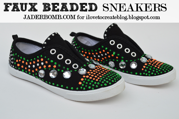 Beaded Shoes DIY