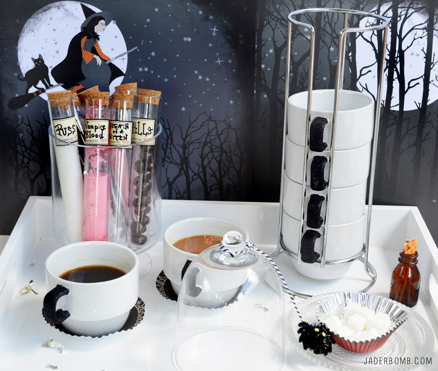 EASY HALLOWEEN SCARY COFFEE PARTY