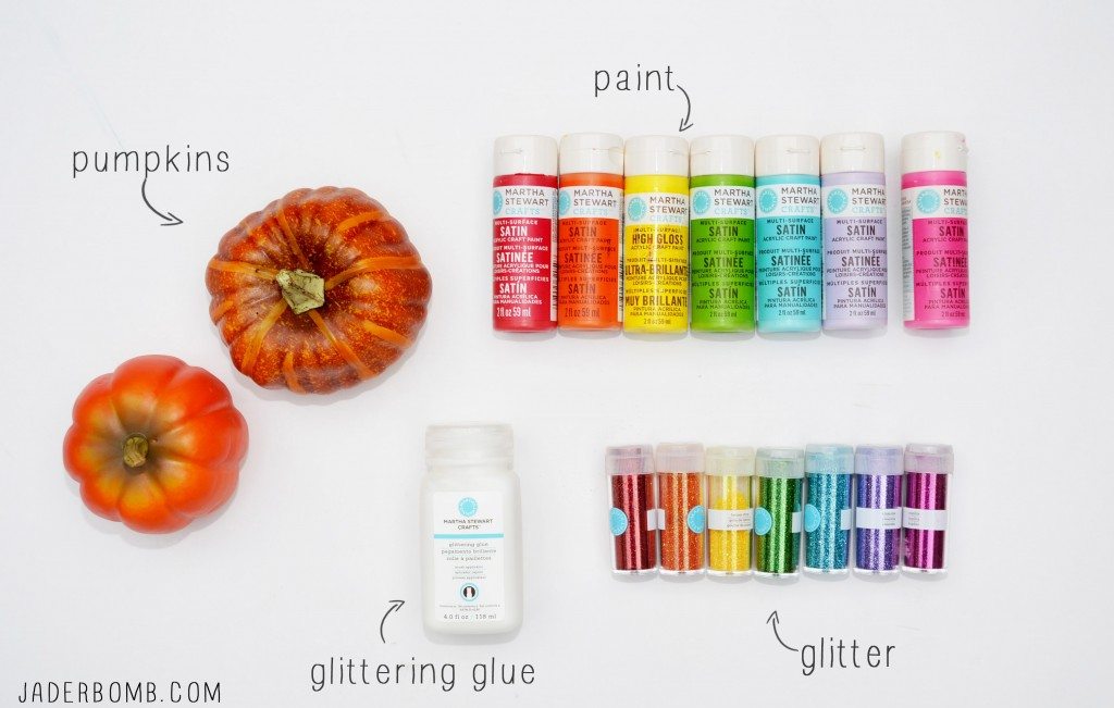 RAINBOW PUMPKIN SUPPLIES