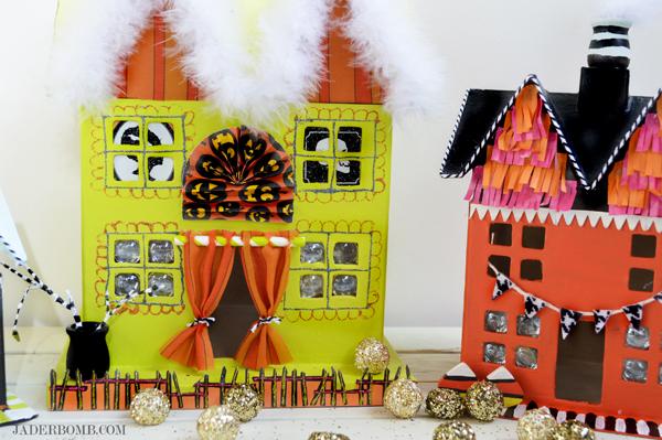 halloween diy houses