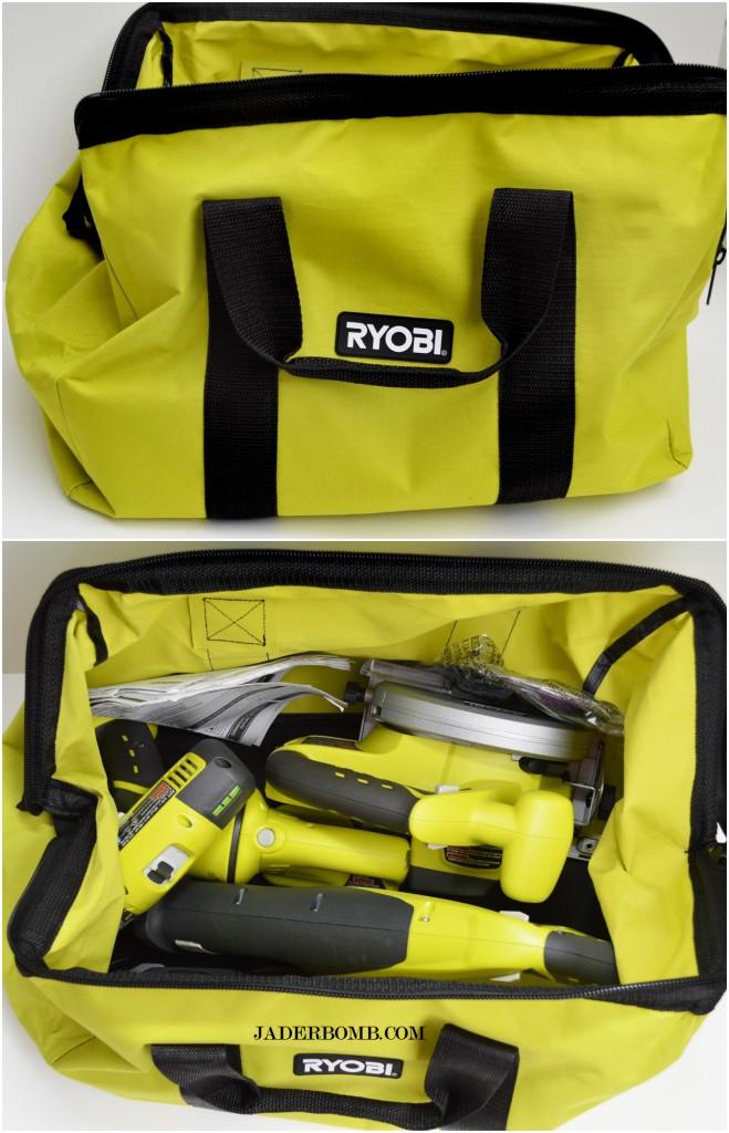 ryobi combo kit bag