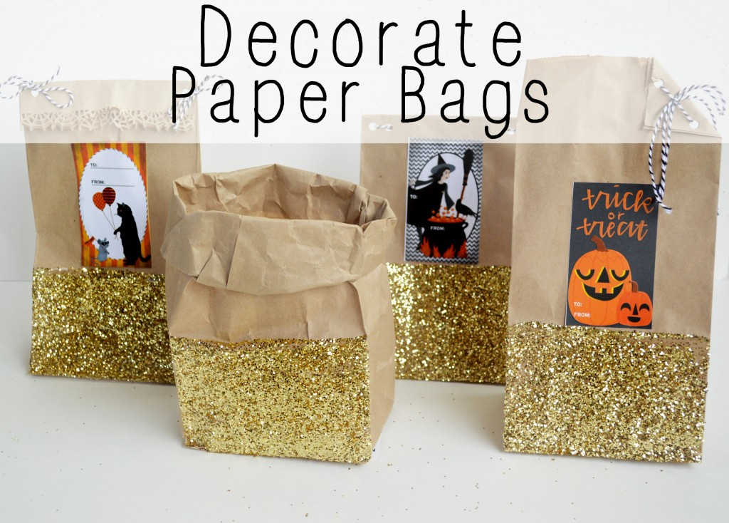 Decorate Paper Bags