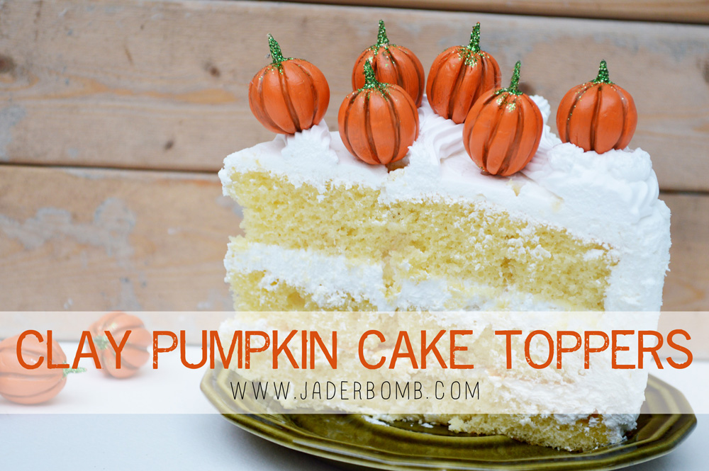 Pumpkin Cake Toppers