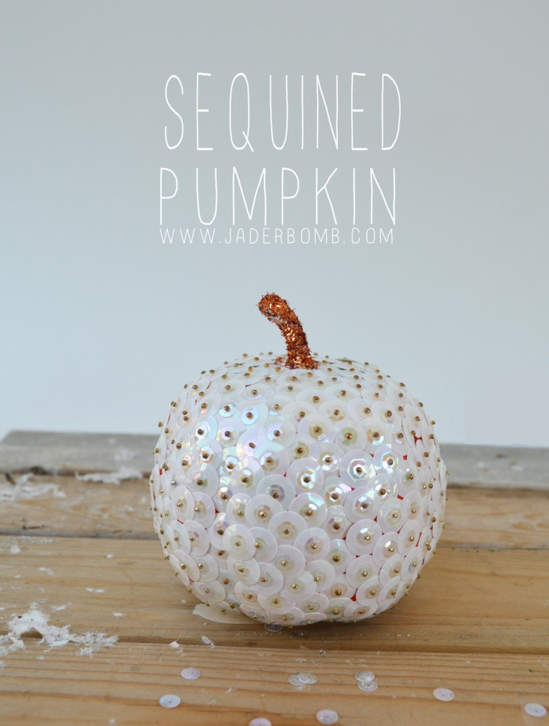 Sequined Pumpkin