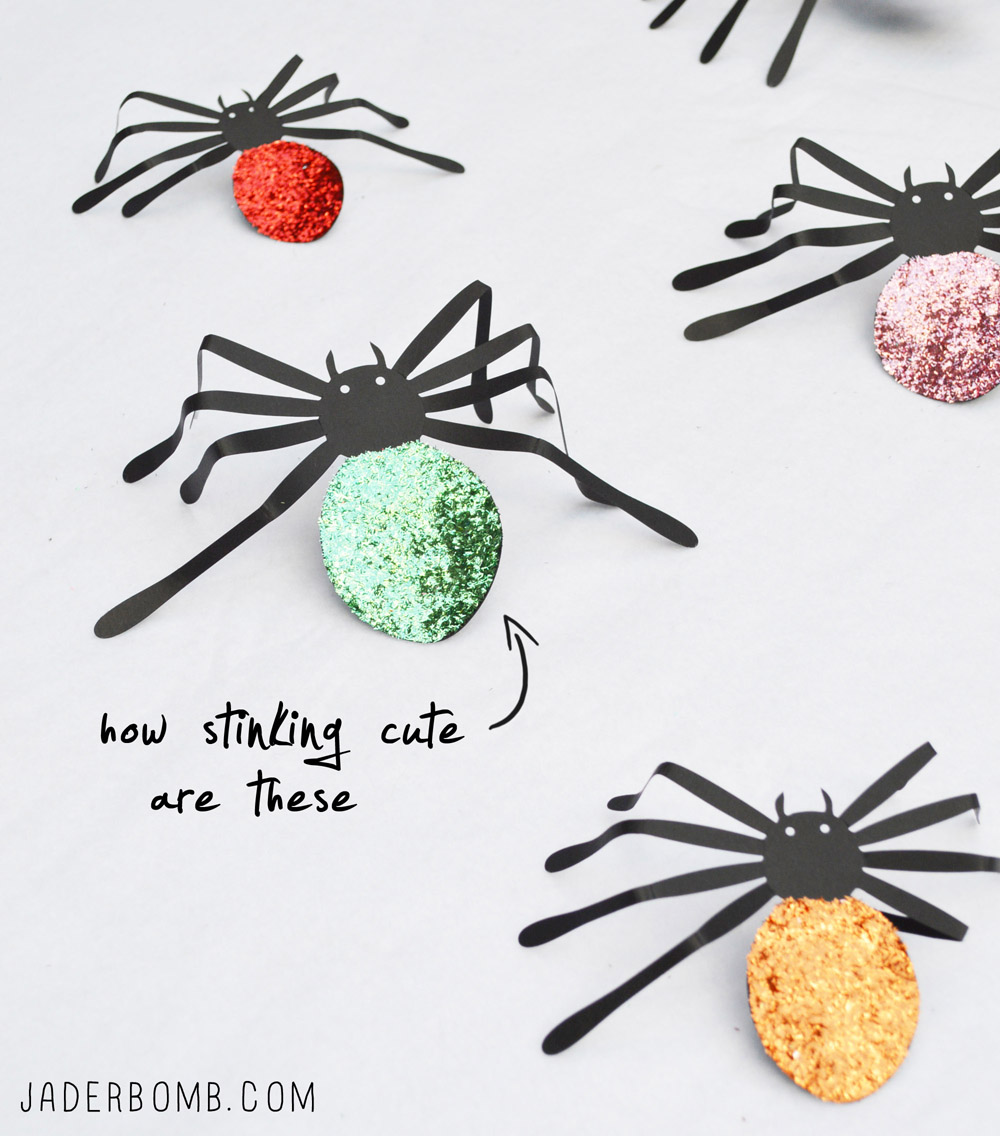 Halloween Decoration Ideas halloween spiders