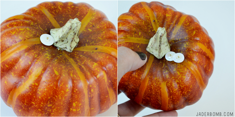 Sequined Pumpkin tutorial