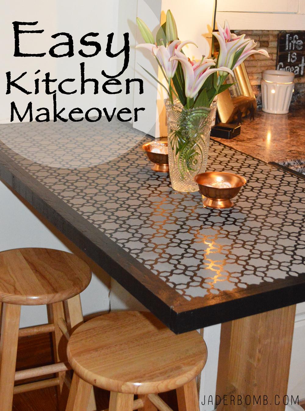 Easy Kitchen Makeover - Jaderbomb