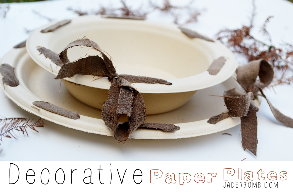 How to decorate paper plates- jaderbomb