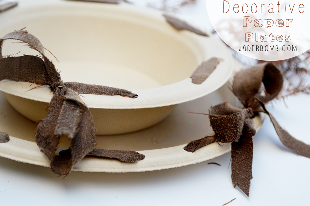 diy decor paper plates