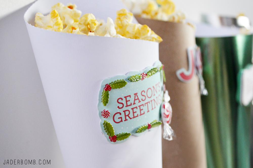 popcorn holder paper cone