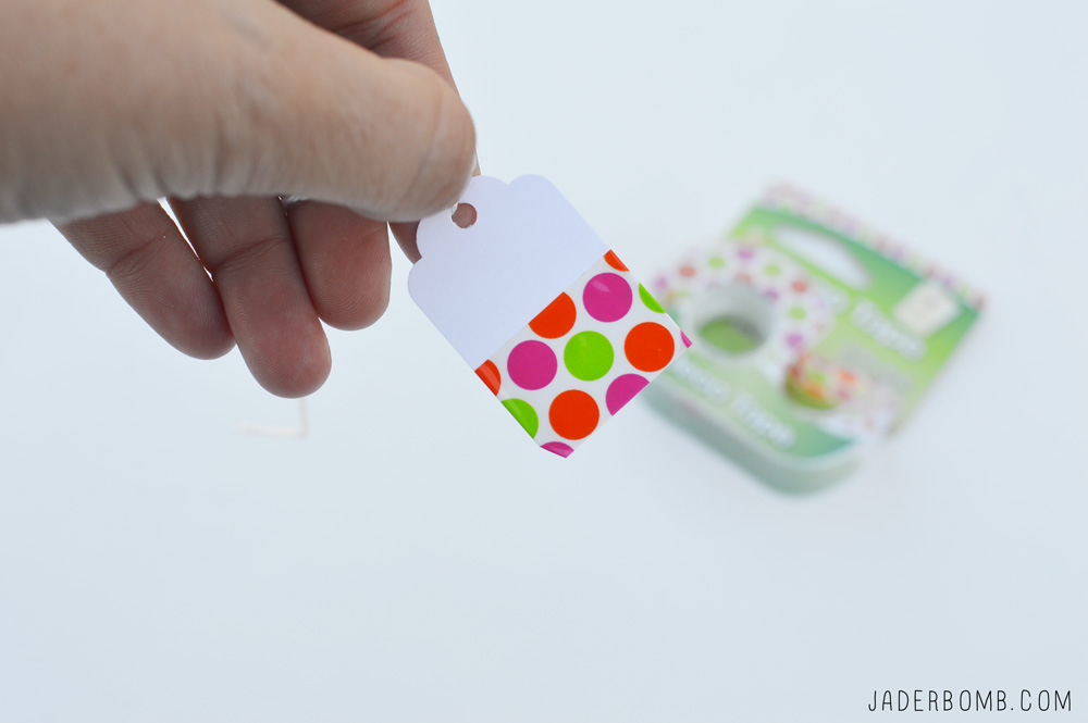 HOW TO MAKE WASHI TAPE LABELS