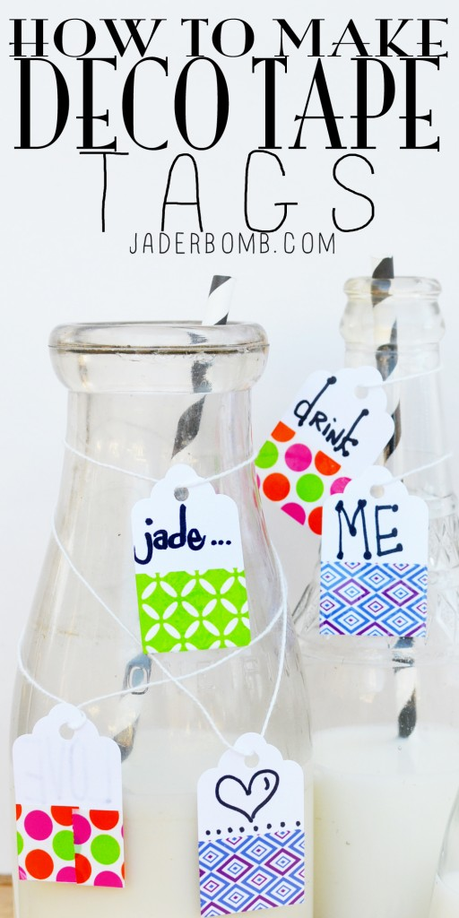 PINTEREST DUCK TAPE TAGS