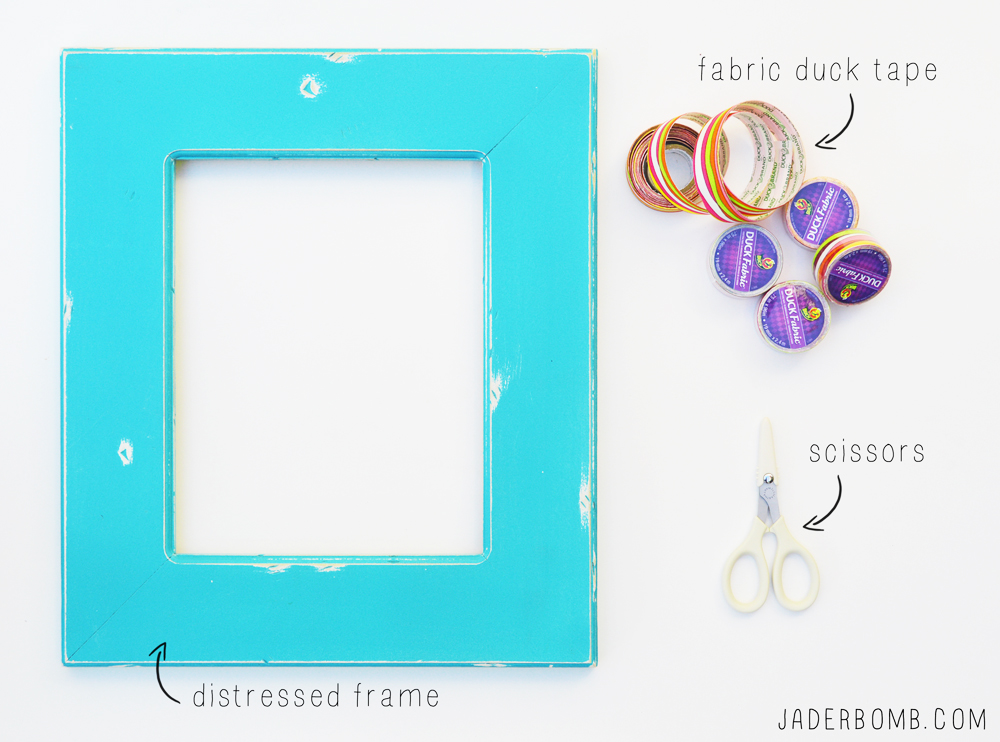 distressed frame supplies