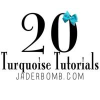 20 TURQUOISE TUTORIALS